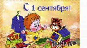 Поздравляем с «Днем знаний»! | Фабрика КЕДР-ФАСАДЫ