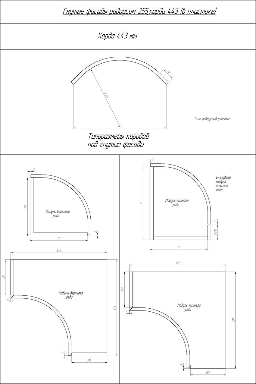 Гнутые фасады 255 радиусом 443 хорда(16 мм) (orig)